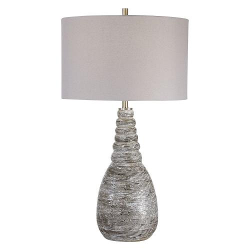 Arapahoe Table Lamp - Rust Brown