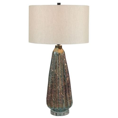 Mondrian Table Lamp - Rust