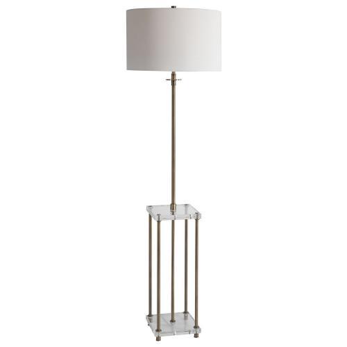 Palladian Floor Lamp - Antique Brass