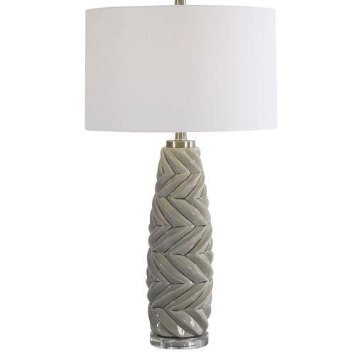 Kari Table Lamp - Light Gray