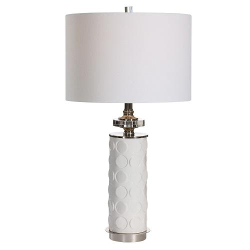 Calia Table Lamp - White