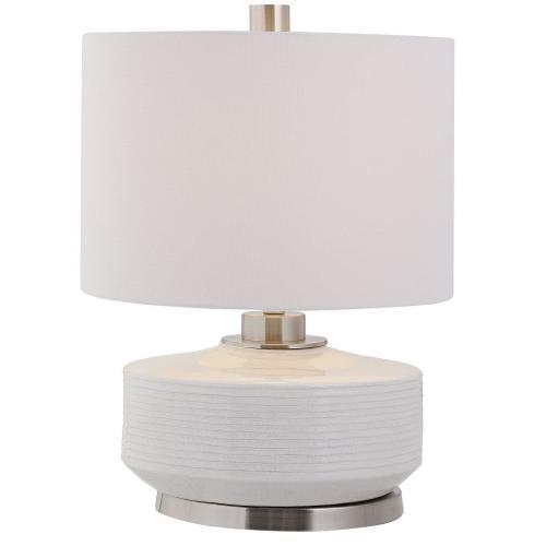 Sailor Stripe Table Lamp - White