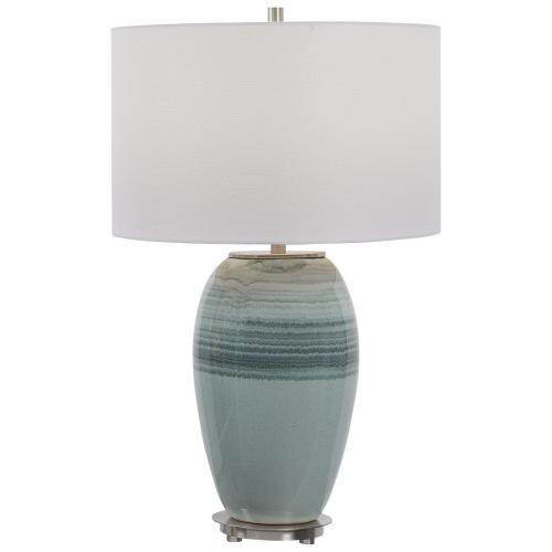 Caicos Table Lamp - Teal