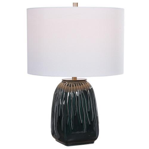 Marimo Table Lamp - Deep Teal
