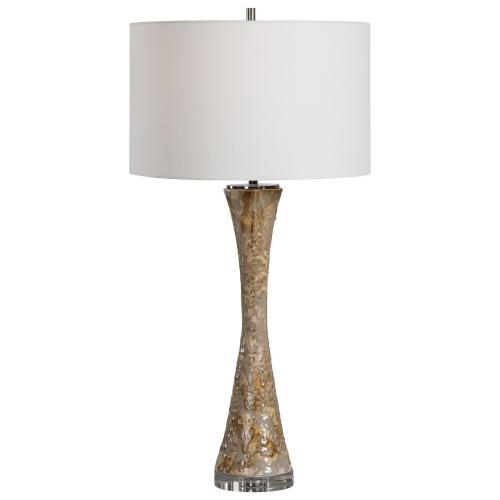 Limerick Table Lamp - Rust