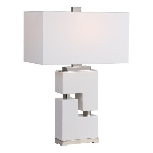 Tetris Table Lamp - White