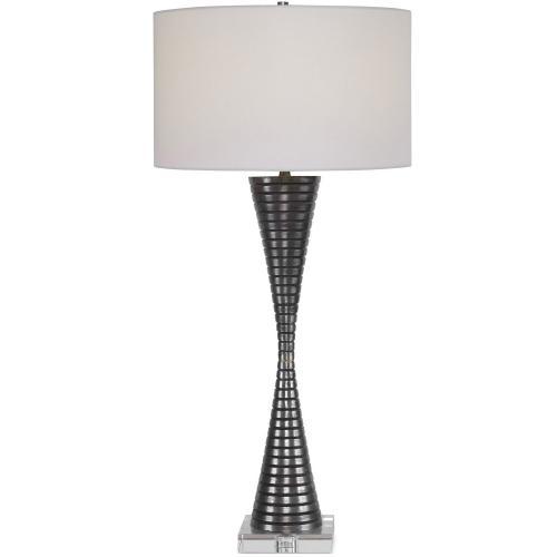 Renegade Ribbed Iron Table Lamp