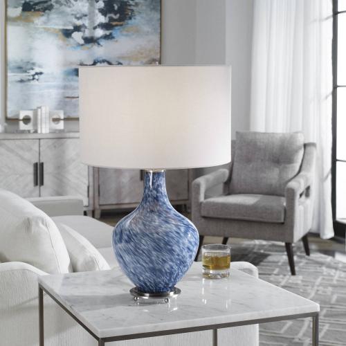 Cove Table Lamp - Cobalt Blue