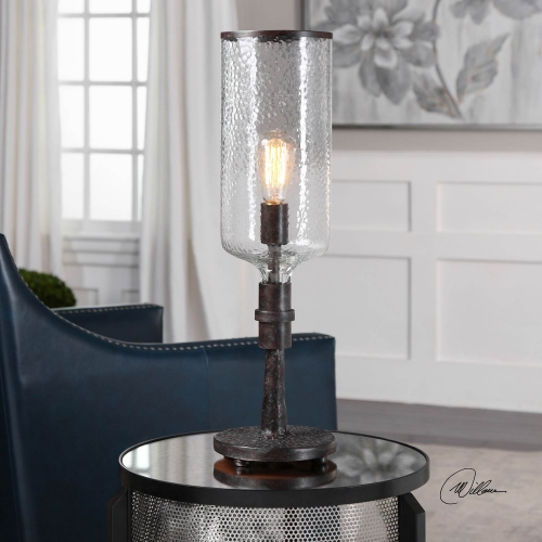 Hadley Old Industrial Accent Lamp