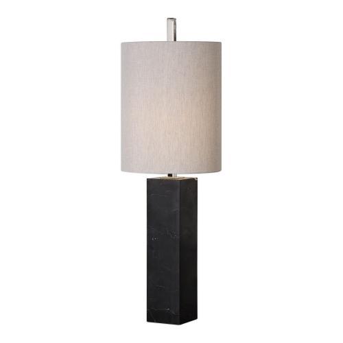 Delaney Marble Column Accent Lamp