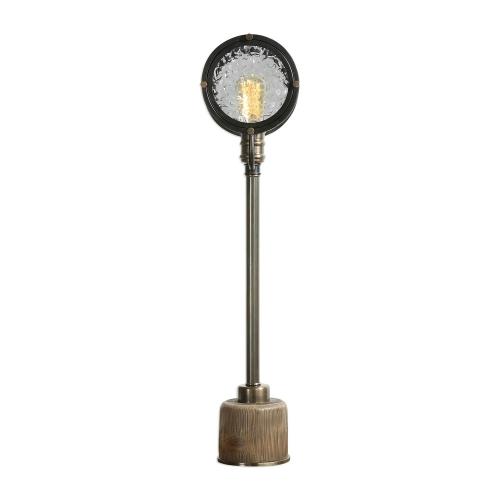 Gavia Iron Column Lamp