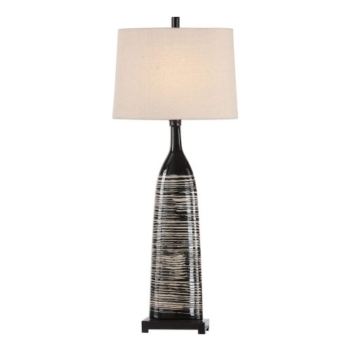 Kanza Lamp - Gloss Black