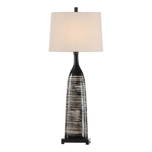 Kanza Lamp - Gloss Black