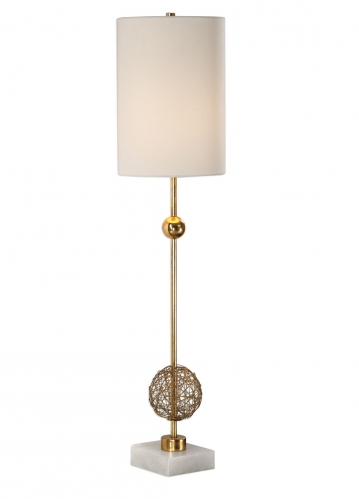 Breckyn Buffet Lamp - Gold