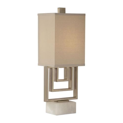 Medora Lamp - Brushed Nickel