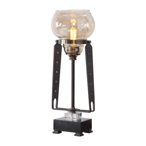 Curie Industrial Accent Lamp