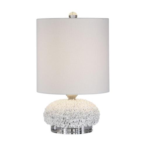 Dellen Buffet Lamp - White Floral