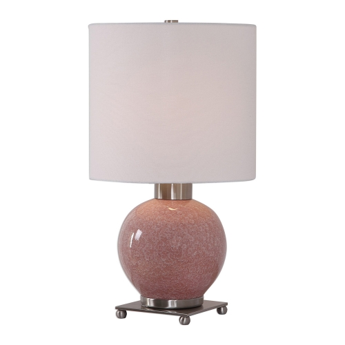 Rhoda Buffet Lamp - Soft Pink