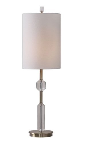 Margo Cut Crystal Buffet Lamp