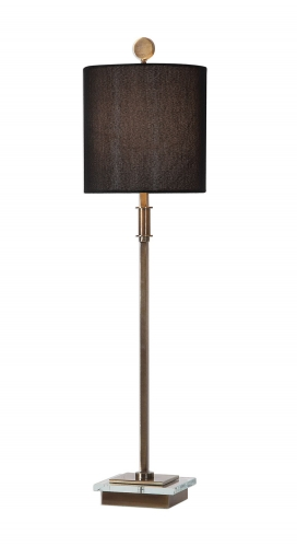 Volante Table Lamp - Antique Brass