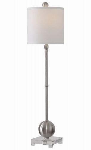 Laton Buffet Lamp - Silver