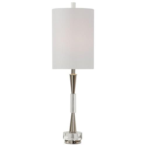 Azaria Buffet Lamp - Polished Nickel
