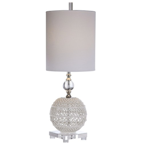 Mazarine Open Buffet Lamp - Ceramic