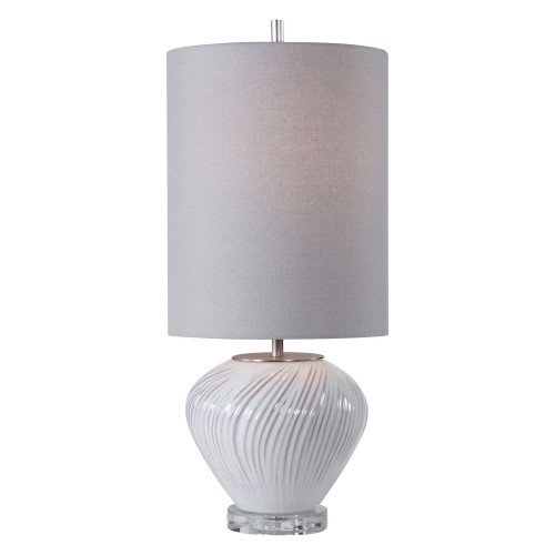 Lucerne Buffet Lamp - White