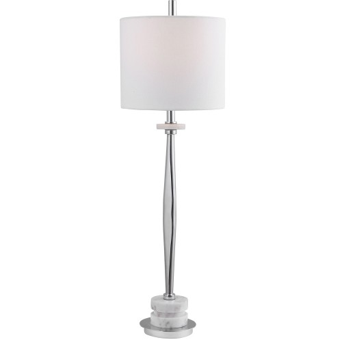 Magnus Buffet Lamp - Chrome