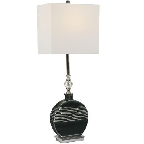 Recina Buffet Lamp - Dark Teal