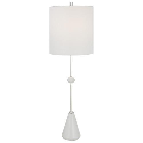 Chantilly Modern Buffet Lamp - White