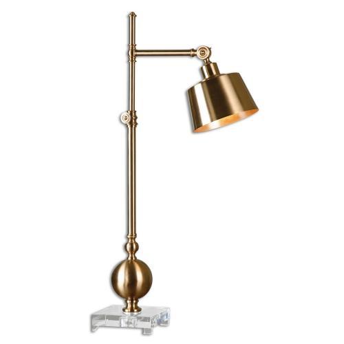 Laton Task Lamp - Brushed Brass