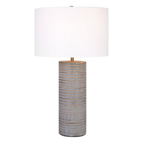 Monolith Table Lamp - Gray