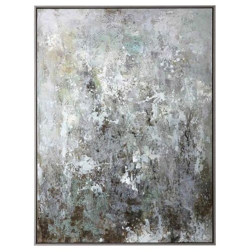 Sea Mist Hand Painted Canvas