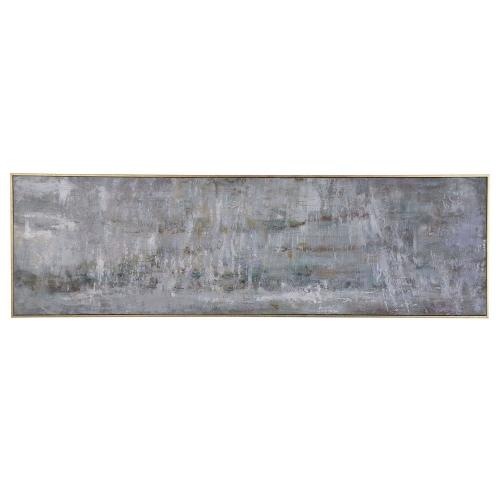 Frenzy Abstract Gray Art
