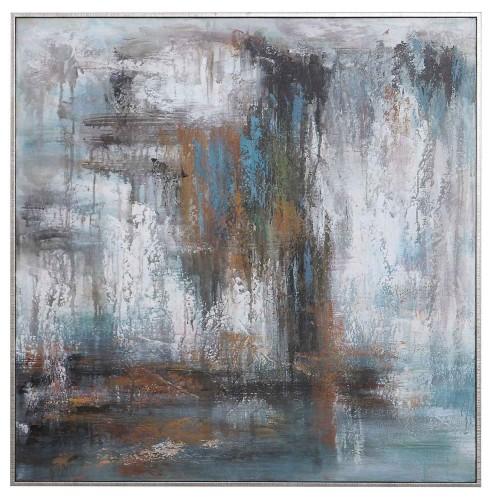 Downpour Hand Painted Canvas