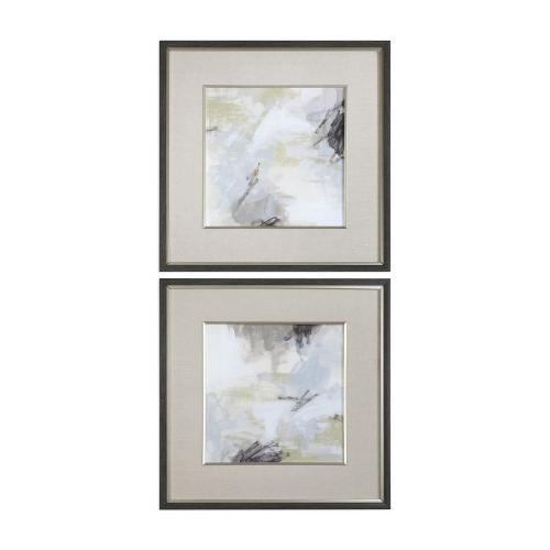 Abstract Vistas Framed Prints - Set of 2