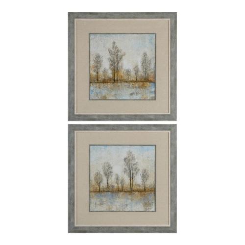 Quiet Nature Landscape Prints - Set of 2