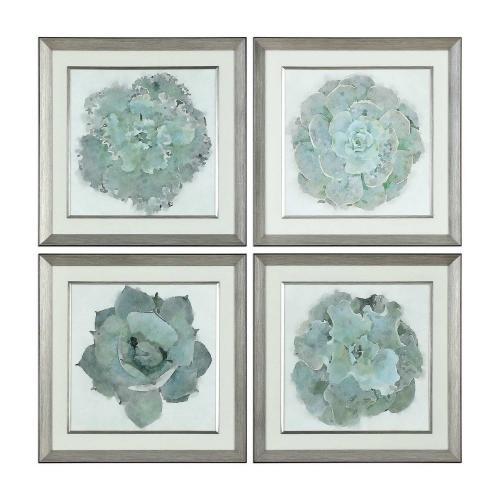 Natural Beauties Botanical Prints - Set of 4