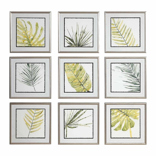 Verdant Impressions Leaf Prints - Set of 9