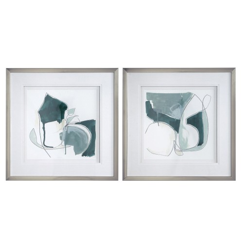Idlewild Framed Prints - Set of 2