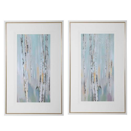 Pandora's Forest Abstract Art - Set of 2