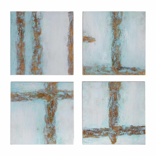 Cross Roads Contemporary Art - Set of 4