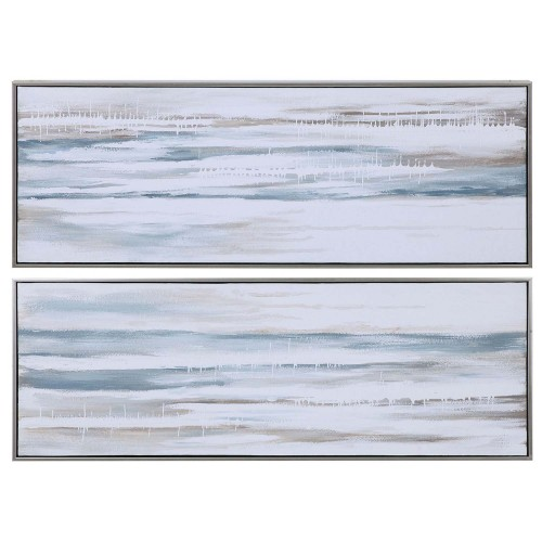 Drifting Abstract Landscape Art - Set of 2