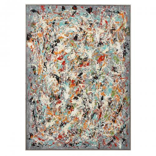 Organized Chaos Hand Painted Canvas