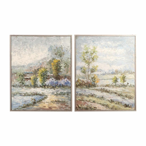 Wayward Rivers Landscape Art - Set of 2