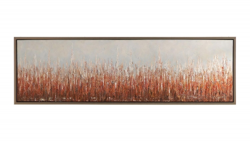Burning Fields Abstract Art