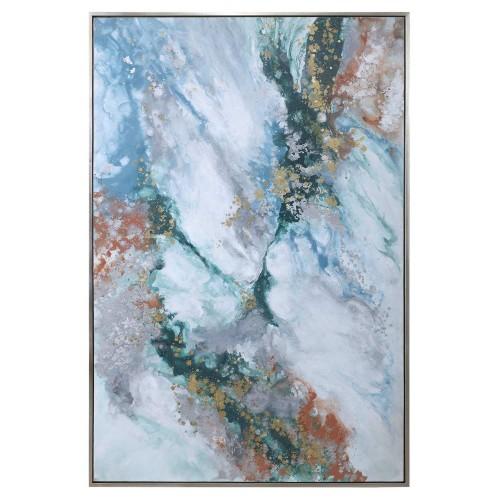 Mercury Hand Abstract Art