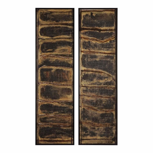 Wilderness Abstract Art - Set of 2