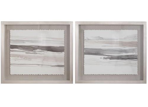 Neutral Landscape Framed Prints - Set of 2